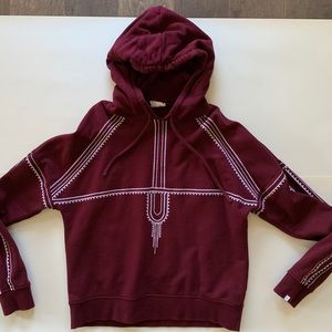 The Upside Phoenix hoodie sweatshirt worn 2x